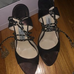 Jimmy Choo Lace Up Shoes